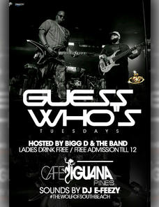 Touch The Mic Tuesdays ft Bigg D and The Band Live